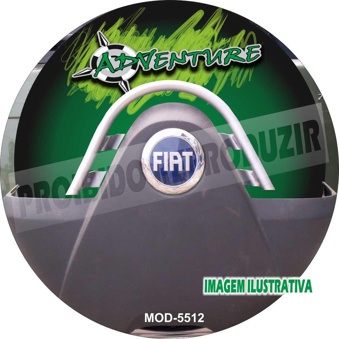 Capa Estepe Idea Doblo Adventure Verde M-5512