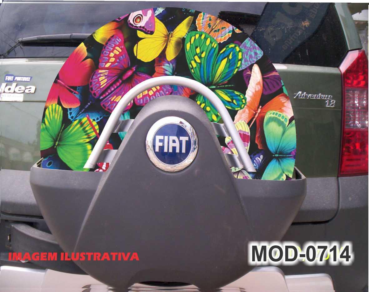 Capa Estepe Idea / Doblo Borboleta M-0714