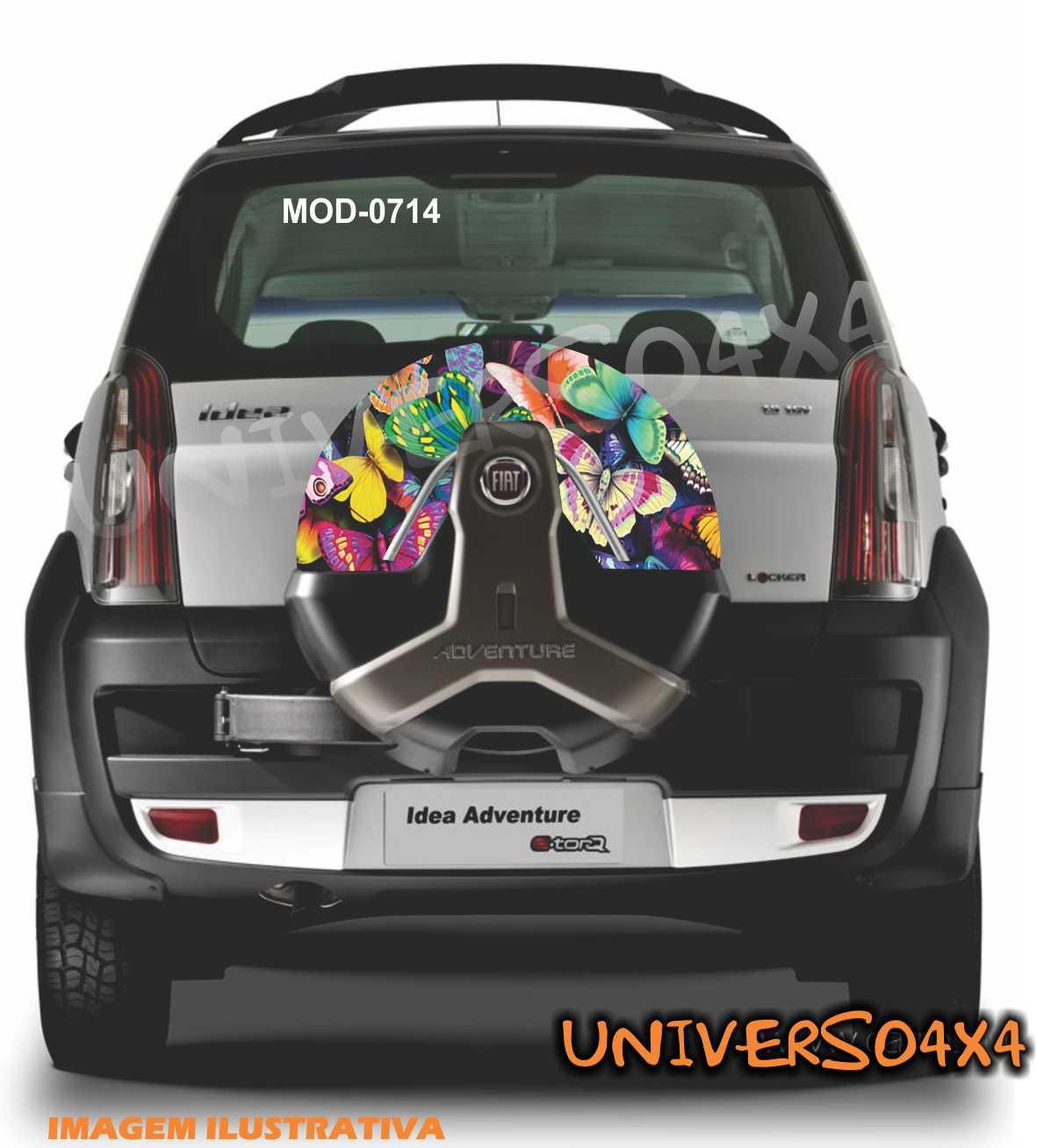 Capa Estepe Idea Doblo Borboleta M-0714