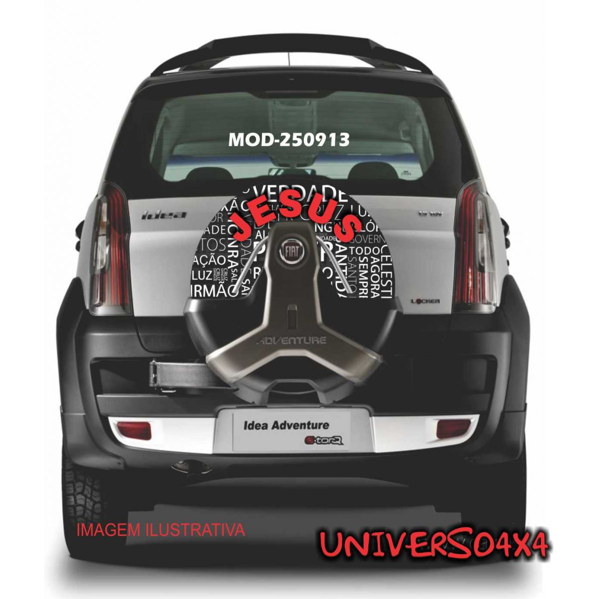 Capa Estepe Idea / Doblo Jesus M-250913