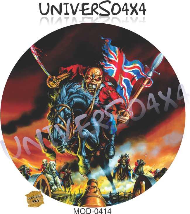 Capa Estepe Iron Maiden 0414