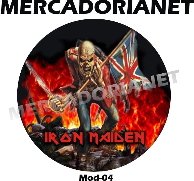 Capa Estepe Iron Maiden M-04