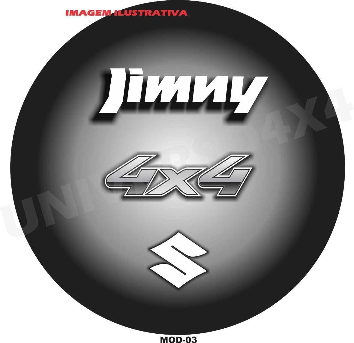 Capa Estepe Jimny M-03