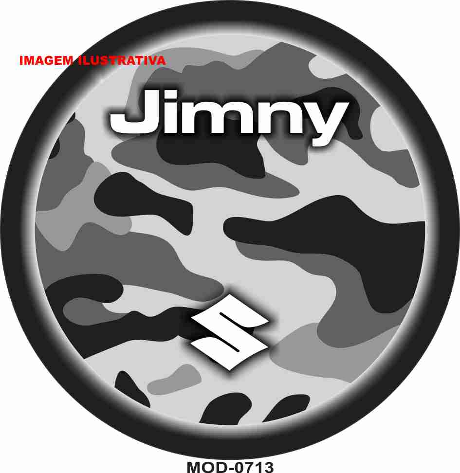 Capa Estepe Jimny Camuflada M-0713