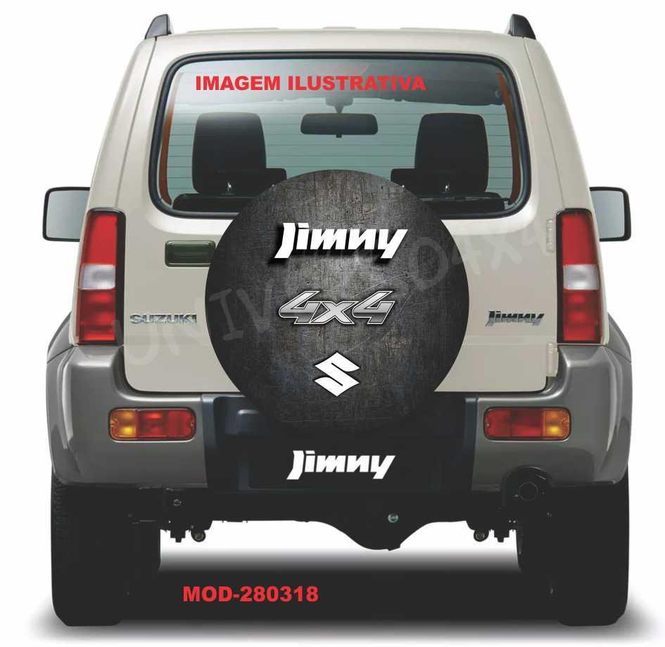 Capa Estepe Jimny Branco M-280318
