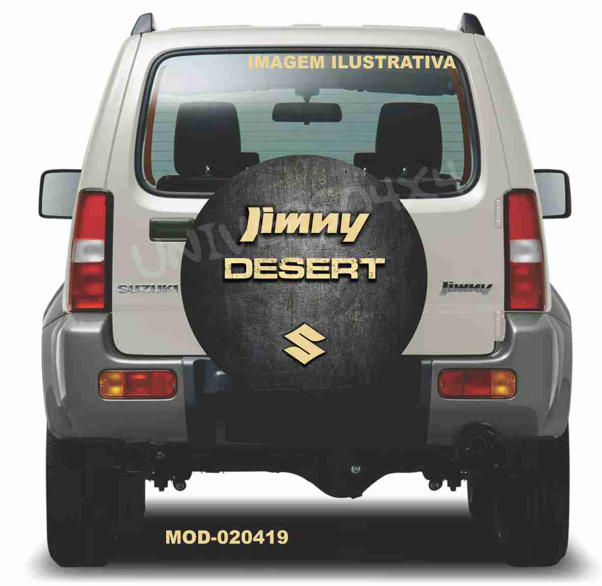 Capa Estepe Jimny Desert M-020419