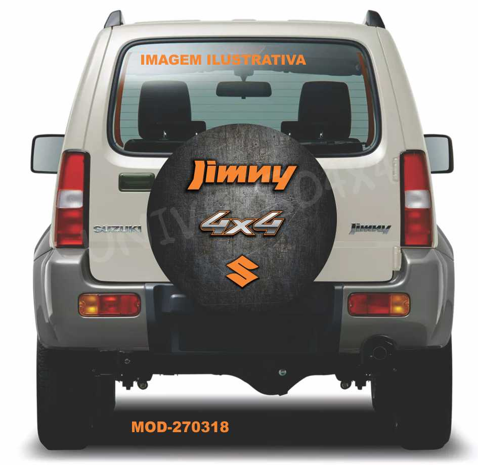 Capa Estepe Jimny Laranja M-270318