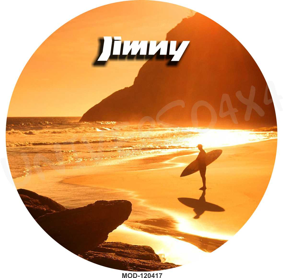 Capa Estepe Jimny Praia Surf M-120417