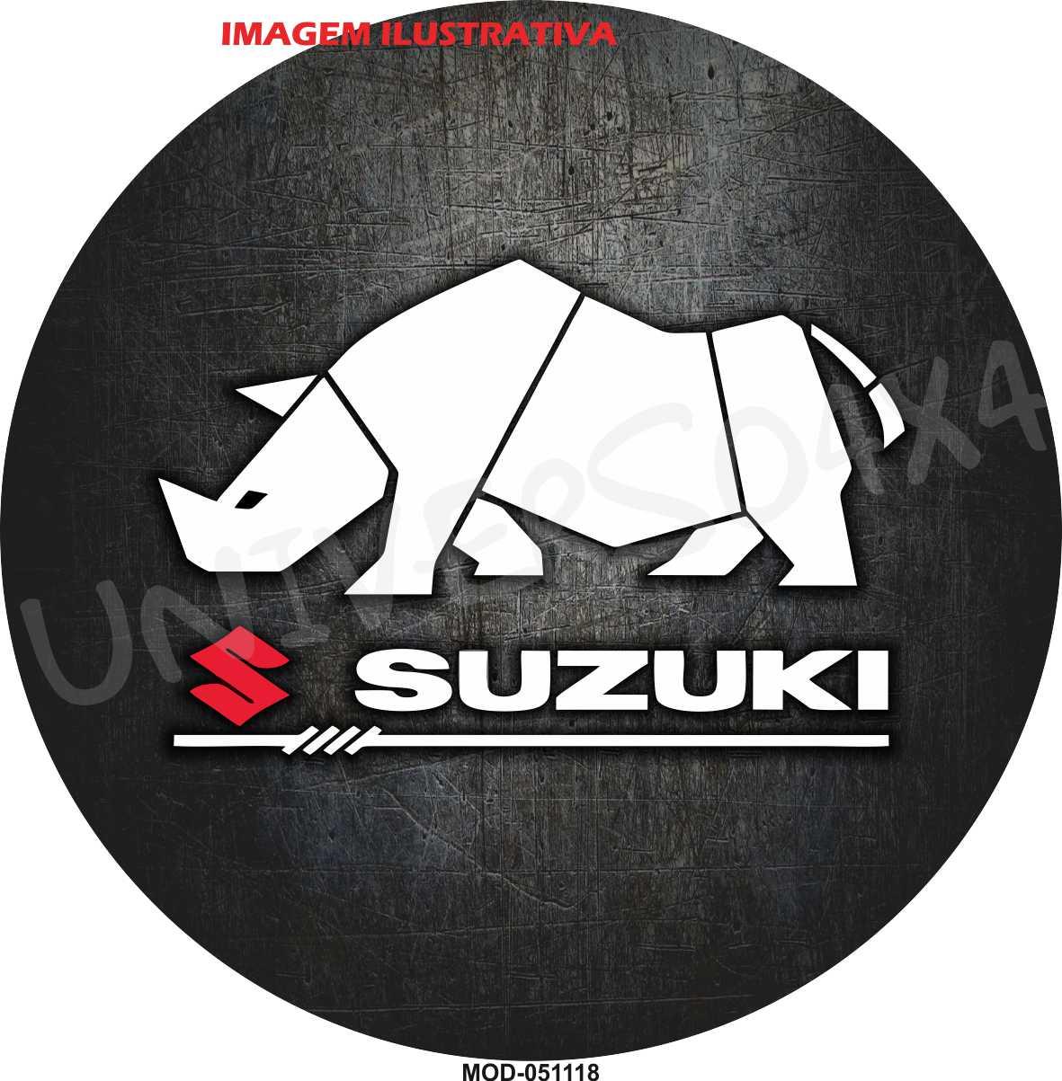 Capa Estepe Suzuki Rinoceronte M-051118