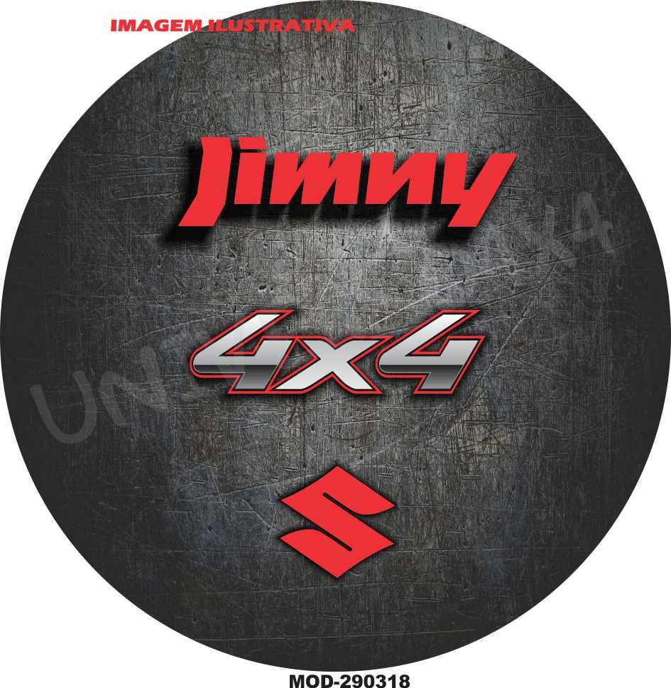 Capa Estepe Jimny Vermelho M-290318