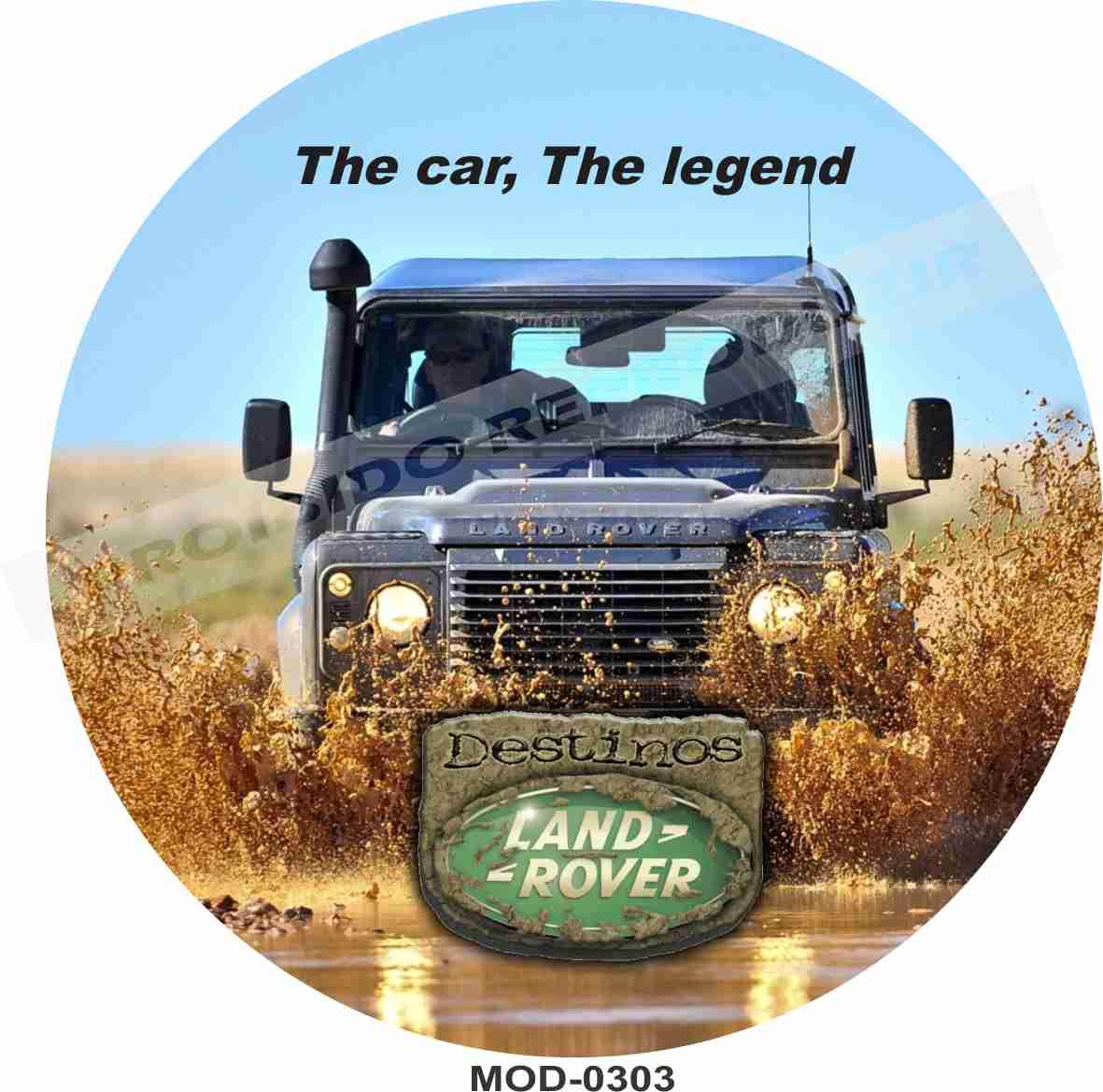 Capa Estepe Land Rover 0303
