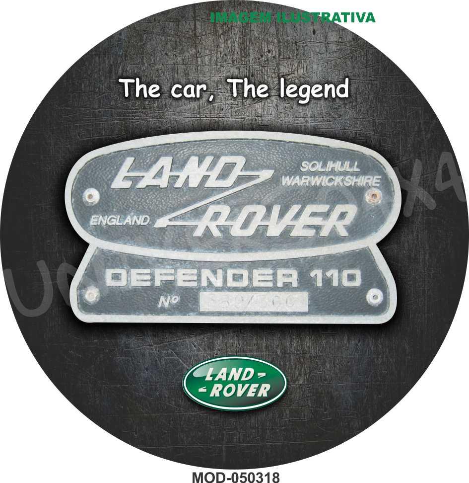 Capa Estepe Land Rover M-050318