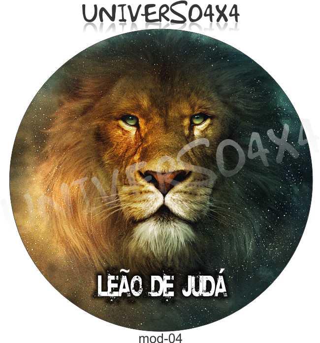 Capa Estepe Leão de Judá M-04