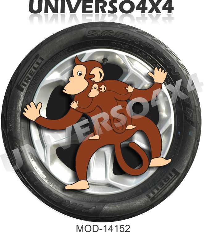 Capa Estepe Macacos M-14152