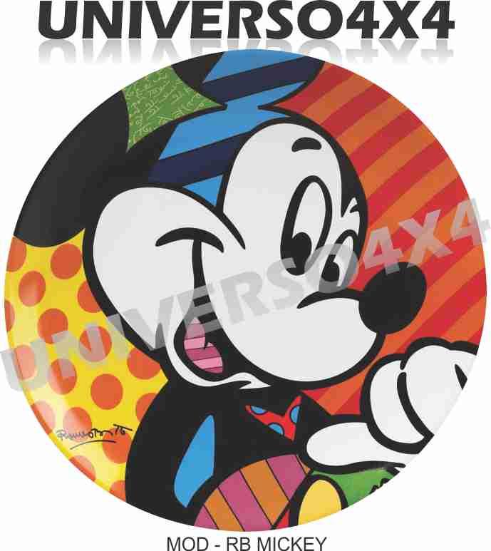 Capa Estepe Mickey Romero Britto M-01