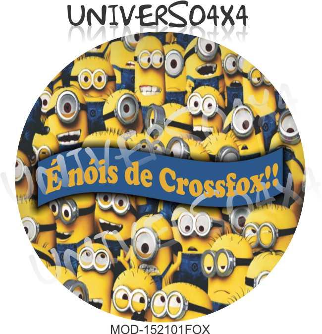 Capa Estepe Crossfox Minion M-152101