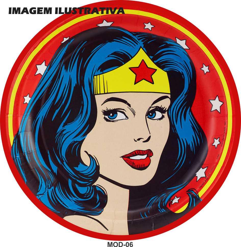Capa Estepe Mulher Maravilha M-06