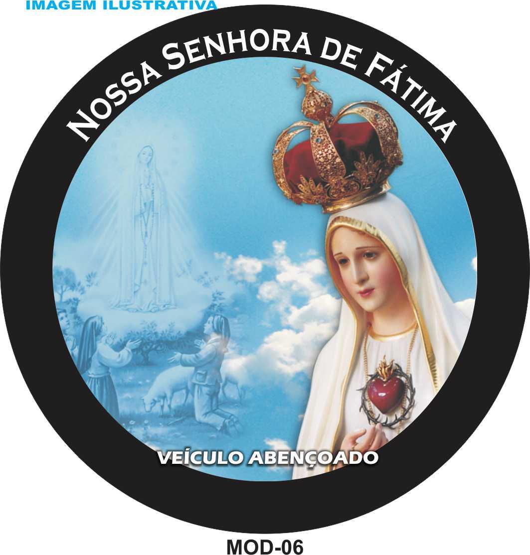 Capa Estepe Nossa Senhora de Fátima 06