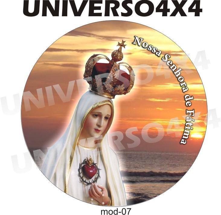 Capa Estepe Nossa Senhora de Fátima M-07