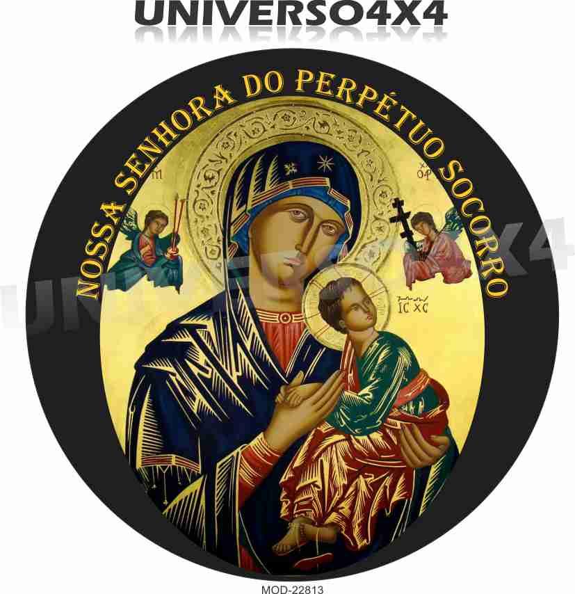 Capa Estepe Nossa Senhora Perpétuo Socorro 22813