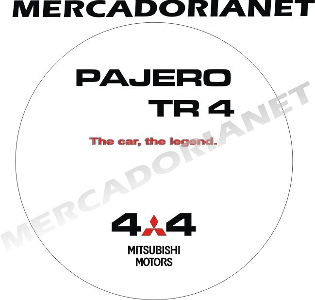 Capa Estepe Pajero TR4  M-BRANCA