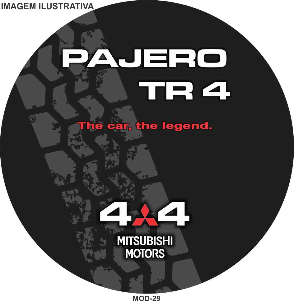 Capa Estepe Pajero TR4  29