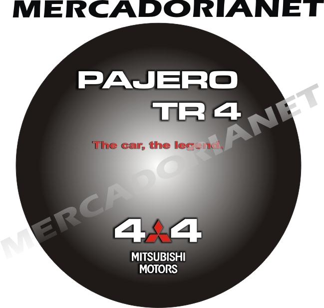 Capa Estepe Pajero TR4 09