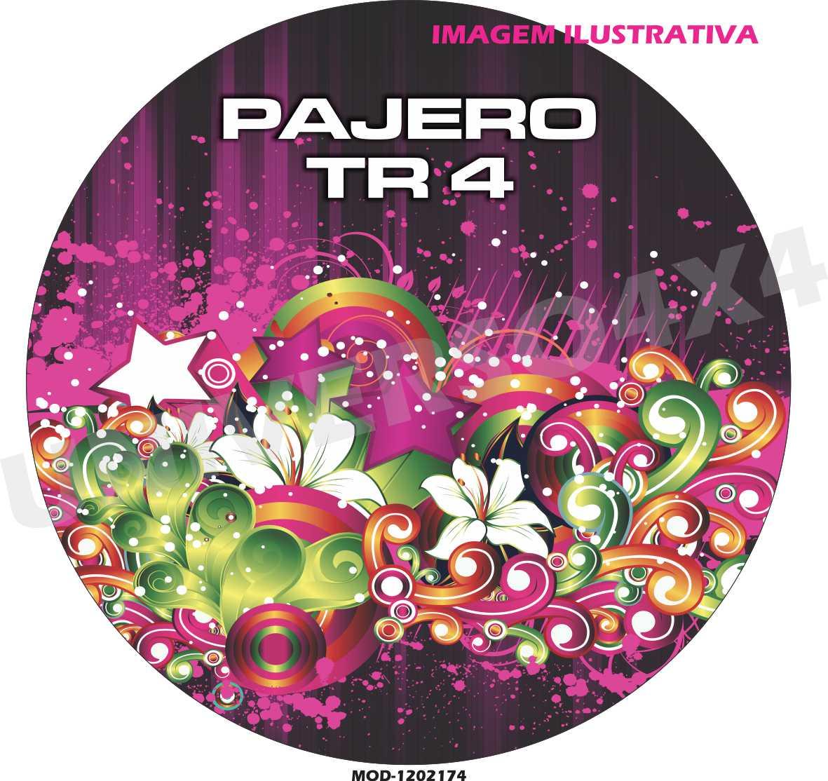 Capa Estepe Pajero TR4 Floral 120217