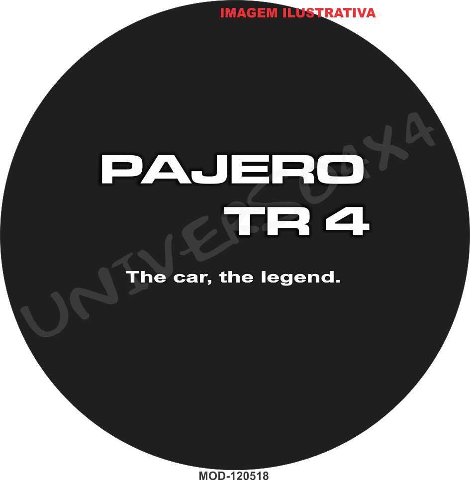 Capa Estepe Pajero TR4 M-120518