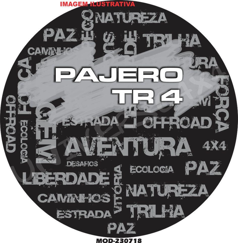 Capa Estepe Pajero TR4  Palavras M-230718
