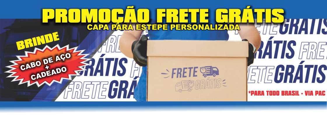Capa Estepe Personalizada FRETE GRÁTIS - CLIQUE AQUI E ESCOLHA SEU VEÍCULO ou PNEU