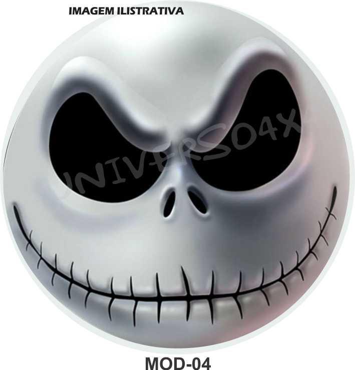 Capa Estepe Smile Jack Skellington M-04