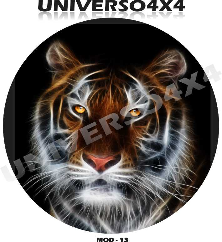 Capa Estepe Tigre M-16