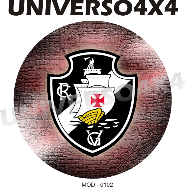Capa Estepe Time Futebol Vasco da Gama M-0102
