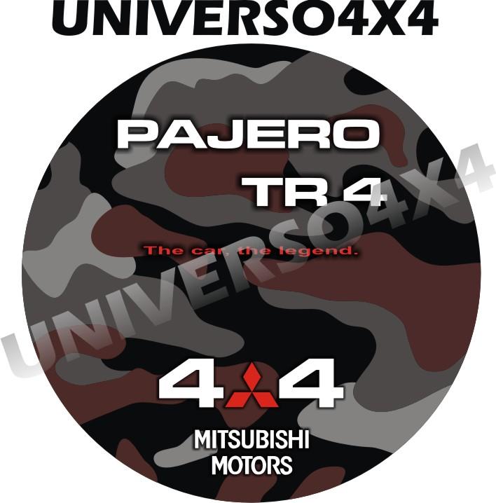 Capa Estepe Pajero TR4 Camuflada M-12