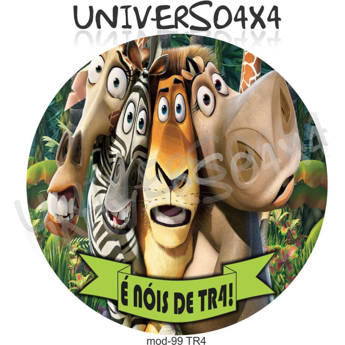 Capa Estepe Pajero TR4 Madagascar 99