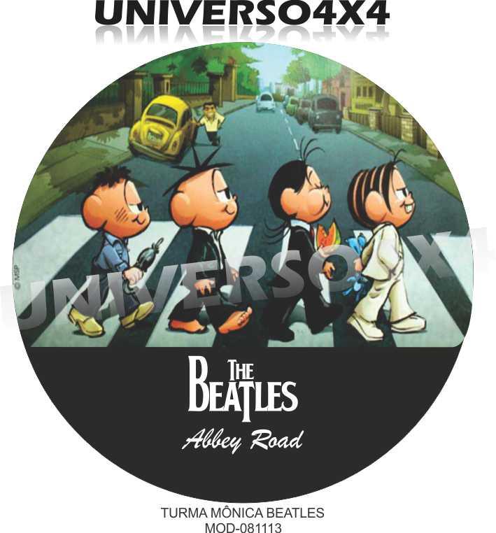 Capa Estepe Turma da Mônica Beatles