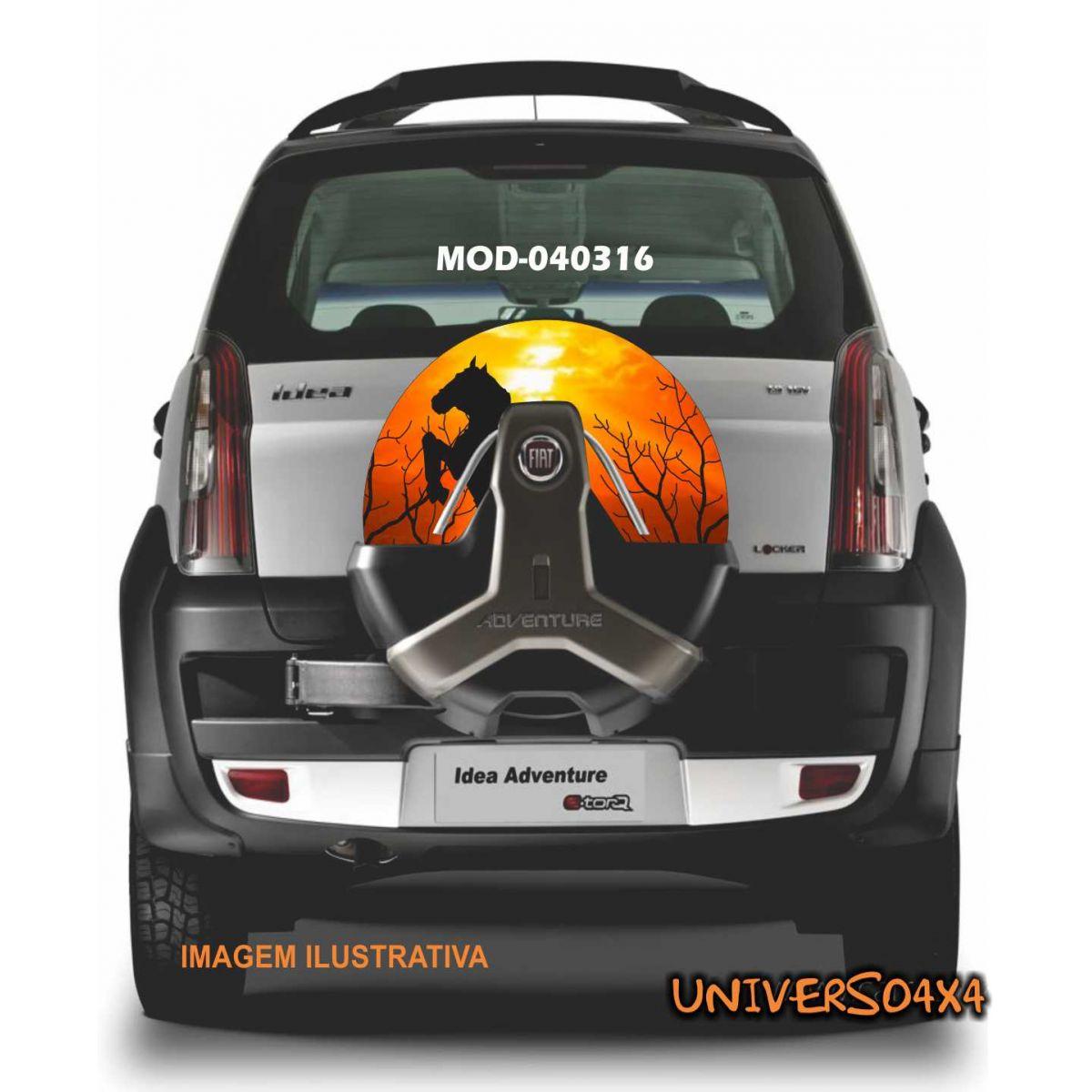 Capa Estepe Idea / Doblo Cavalo 040316