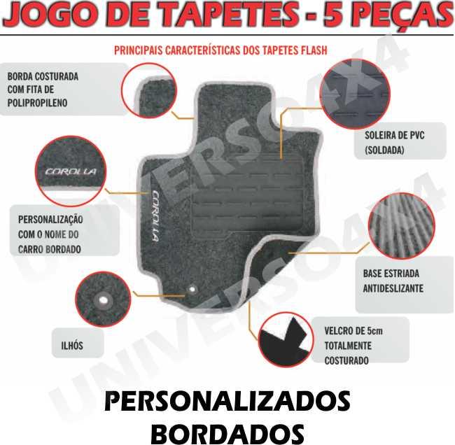 JOGO DE TAPETES PAJERO TR4
