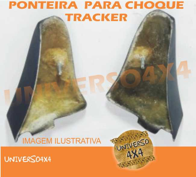 Ponteira Parachoque Dianteiro Tracker Lado Direito