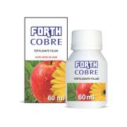 Adubo Fertilizante para Agricultura - FORTH COBRE - 60ml - Pronto Uso