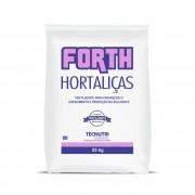 Adubo Fertilizante para Hortaliças - FORTH Hortaliças - 25kg