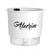 Vaso Autoirrigável para Horta Alecrim - Linha Gourmet Branco