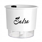 Vaso Autoirrigável para Horta Salsa - Linha Gourmet Branco