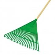 Vassoura Ancinho Verde Triangular com Cabo