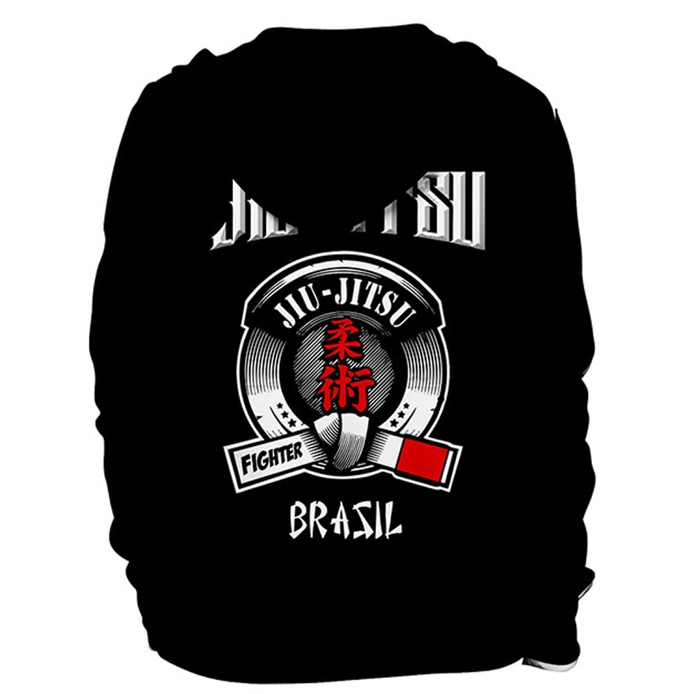 Agasalho Casaco Moleton - Jiu Jitsu - 5023 - Preto - Dominium  - Loja do Competidor