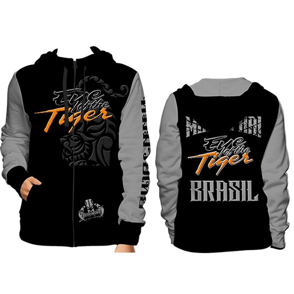 Agasalho Casaco Moleton - Muay Thai - 5018 - Masculino - Dominium  - Loja do Competidor