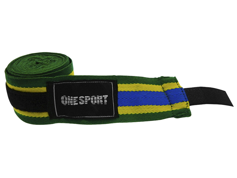 Bandagem Elástica 2,50 m - One Sport - Diversas Cores .