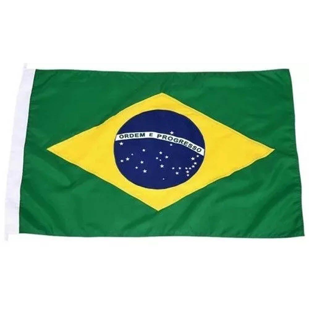 Bandeira do Brasil - 2,5 Panos - 160 x 113 cm - Oficial