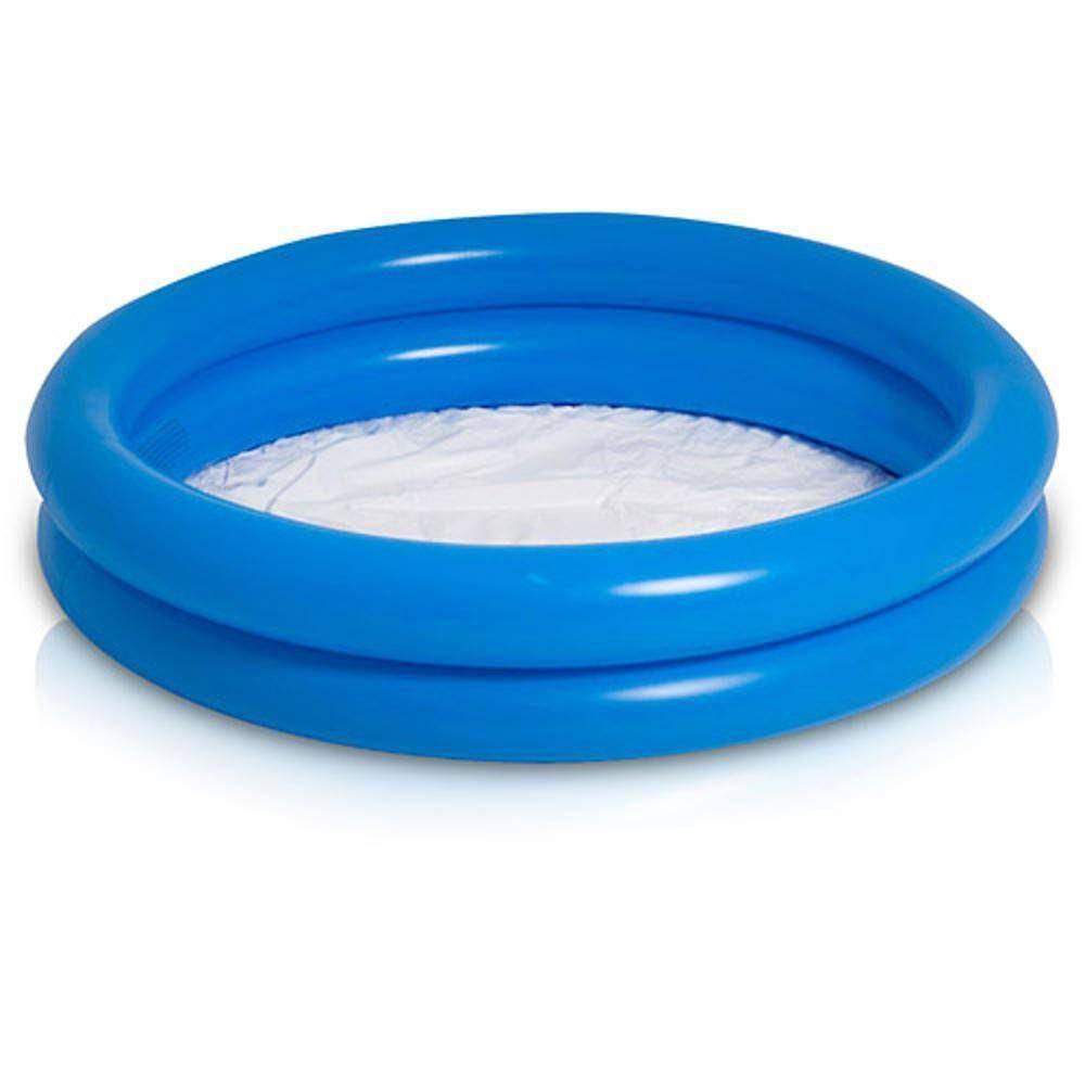 Banheira para Piscina - Inflável - Natação - Azul-  130 litros- Mor